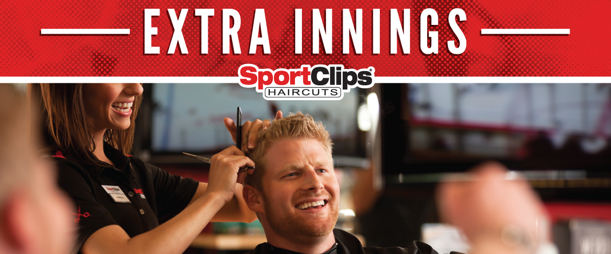 The Sport Clips Haircuts of Roanoke  Extra Innings Offerings
